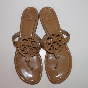 Tory Burch Miller Sandals - Tan